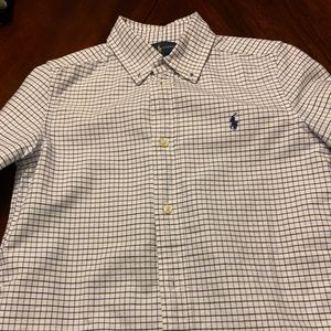 Set of 2 Plaid Collared Shirts